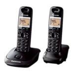 Panasonic Kx-tg2512-sıyah Kx-tg2512 Dect Telefon Çift Ahizeli