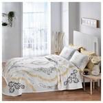 Taç Tekstil Taç Claire Pike Takımı Çift Kişilik - Gold