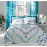 Taç Tekstil Taç Claire Pike Takımı Çift Kişilik - Mavi