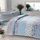 Taç Tekstil Taç Melissa Pike Takımı Çift Kişilik - Mavi