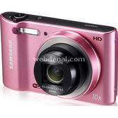 "Samsung Wb30f 16.2 Mp 10x Optik 3.0"" Lcd Hd Video Wi-fi Pembe Renk + Çanta"
