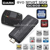 Dark Evo Smart Stick Dk-pc-andboxqc802kb Quad-core 1 Gb 8 Gb Android 4.2 Klavyeli