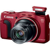 "Canon Powershot Sx700 Hs 16.1 Mp 30x Optik 3.0"" Lcd Full Hd Gps Wi-fi Dijital Kompakt  Kır"