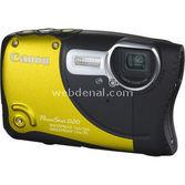 "Canon Powershot D20 12.1 Mp 5x 3.0"" Lcd Full Hd Gps Dijital Kompakt Sarı"