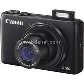 "Canon Powershot S120 12.1 Mp 5x Optik 3.0"" Lcd Dokunmatik Wifi Dijital Kompakt Siyah"