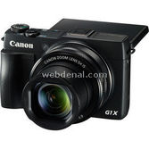 "Canon Powershot G1 X Mark Ii 12.8 Mp  F/2-3,9 24 Mm 5x Zoom 3.0"" Lcd Full Hd Wi-fi Dijital"