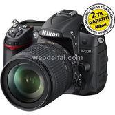 """Nikon D7000 16.2mp, 3.0""""lcd Siyah+18-105 Lens Hediye"""