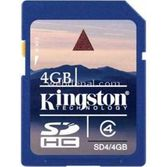 Kingston 4 Gb Sd Card  Sd4