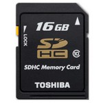 Toshiba 16 Gb Sdhc Secure Digital Sd Card Class 10 High Speed
