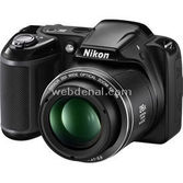 "Nikon Coolpix L320 16.1 Mp 26x Optik 3.0"" Lcd Digital Kompakt Siyah"