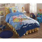 Taç Tekstil Taç Disney Sponge Bob Boat Lisansli Uyku Seti