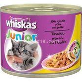 Whiskas Junior Tavuklu Yavru Kedi Konservesi 200 Gr