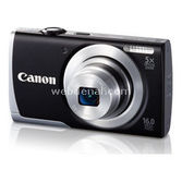 Canon Dsc Powershot A2600 16mp 5x Optik Siyah