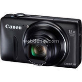 "Canon Powershot Sx600 Hs 16 Mp 18x Optik 3.0"" Lcd Full Hd Wi-fi Dijital Kompakt Siyah"