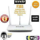 Tenda F303 F303 4port Wifi-n 300mbps Router 3 Anten
