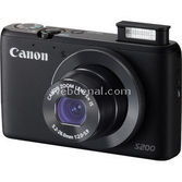 "Canon Powershot S200 10.1 Mp 5x Optik 3.0"" Lcd Wifi Dijital Kompakt Siyah"
