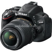 "Nikon D5100 Dx 16.2 Mp 18-55 Mm Vr'siz Lens 3.0"" Lcd Full Hd Dijital Slr"