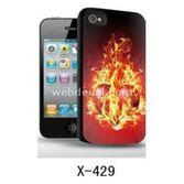 I-Techgear X-429 Iphone 4/4s Uyumlu Üç Boyutlu (3d) Arka Kapak Ateşli Kalp