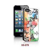 I-Techgear X5-079 Iphone 5 Uyumlu Üç Boyutlu (3d) Arka Kapak Pastel Kelebek