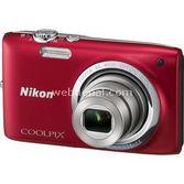 "Nikon Coolpix S2700 16 Mp 6x Optik 2.7"" Lcd Dijital Kompakt Kırmızı"