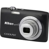 "Nikon Coolpix-s2800b Com 20mp 5x 2,7"" Hd"