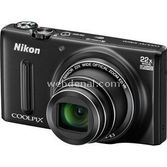"Nikon Coolpix S9600 16mp 22x Optik 3"" Lcd Wi-fi Full Hd Dijital Kompakt Siyah"
