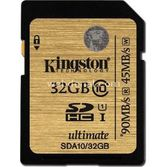 Kingston 32gb Sdhc C10 Uhs-i Sda10/32gb