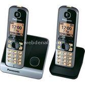 Panasonic Kx Tg6712 Duo Dect Telefon (1+1 El Cihazli) Füme