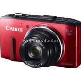 "Canon Powershot Sx280 Hs 12.1 Mp 20x Optik 3.0"" Lcd Dijital Kompakt Kırmızı"