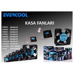 Everest Evercool Jt4010 40*40*10mm Kutulu Kasa Fanı