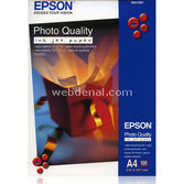 Epson C13s041061  Photoquality Ink Jet Paper,a4,1440dpi,100syf.102g