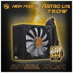 High Power Hpm-750gd-f14c Astro 750w 80+ Gold Power Supply