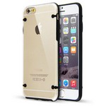 Microsonic Hybrid Tranparant Iphone 6 Plus 5.5'' Kilif Siyah