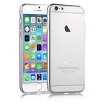 Microsonic Slim Transparent Soft Iphone 6 Plus (5.5'') Kilif Beyaz
