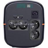 Tuncmatik 2000 Va 6 Dk (4pc+ınj) Destek. Digitech Eco Line-ınteractive Ups