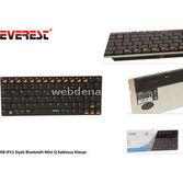 Everest Kb-ip11 Siyah Bluetooth Mini Q Multimedia Kablosuz Klavye