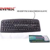 Everest Kb-628p Siyah Ps/2 Q Multimedia Klavye