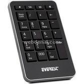 Everest Kb-601 Siyah Usb Numeric Standart Klavye