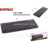 Everest Dlk-3100u Siyah Usb Q Multimedia Klavye