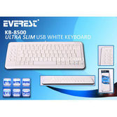 Everest Kb-8500 Beyaz / Siyah Usb Q Multimedia Klavye