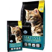 Matisse Farmına Tavuk Hindi Ve Sebzeli Yetişkin Kedi Maması 10 Kg.+3.8lt Sılıca Gel K