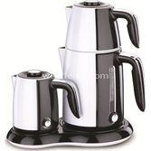 Korkmaz A367-05 Beyaz  Inox Elektrikli Çay Kahve Makinesi
