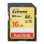 Sandisk 16gb Sd Kart 60mb/s Extreme  Sdsdxn-016g-g46