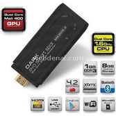 Dark Evo Smart Stick Hdmi Dual Core 1 Gb Ddr3 Android Mini Pc Dk-pc-andboxmk809ii