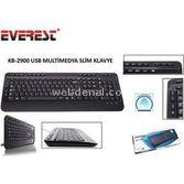 Everest Kb-2900 Siyah Usb Q Multimedia Klavye