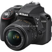 "Nikon D3300 24.2 Mp 18-55 Ii Lens 3.0"" Lcd Full Hd Dijital Slr"
