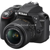 "Nikon D3300 24.2 Mp 18-55 Vr Lens 3.0"" Lcd Full Hd Dijital Slr"