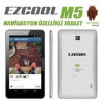 "Ezcool M5 Quad Core 1 Gb 8 Gb 7"" Android 4.4 Beyaz"