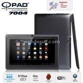 "Quatronic Qpad 7004 Dual Core Alwinner A23 4 Gb 512 Mb 7"" Android 4.4 Siyah"