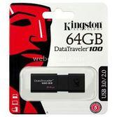 Kingston 64gb Usb 3.0 Dt100g3 Usb Bellek Outlet